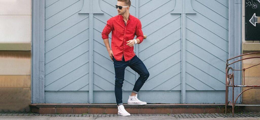 červená košile