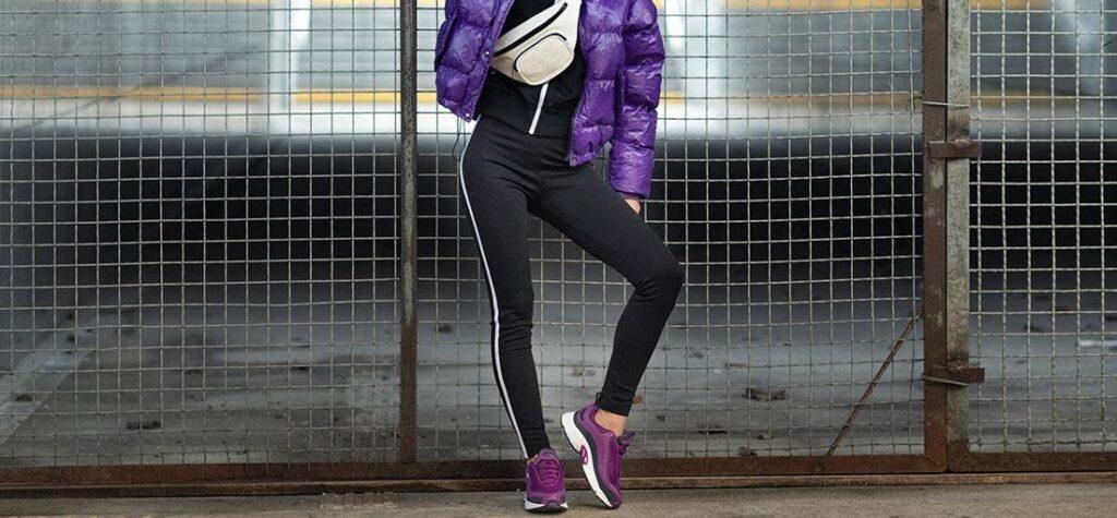 fialové boty