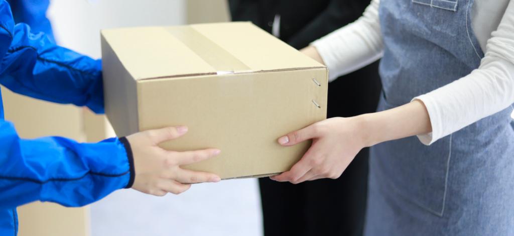 vrácení zboží, balíček