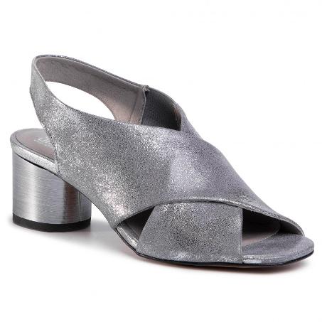 Metalické sandály