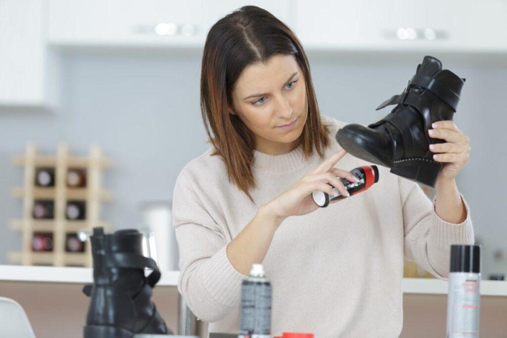 Jak osvěžit obuv pečujícími přípravky?